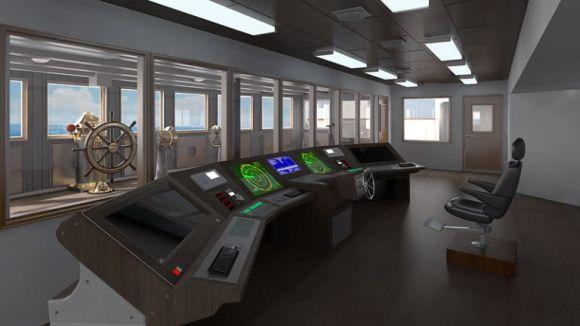 A torre de comando do Titanic 2 (Foto: Divulgação Blue Line)