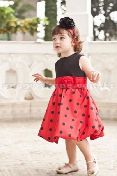 São diversas as opções de modelos de vestidos infantis para festas (Foto: Divulgação Ana Giovanna Moda Infantil Feminina)