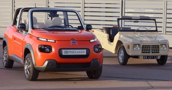 Citroën E-Mehari (Foto: Divulgação Citroën)