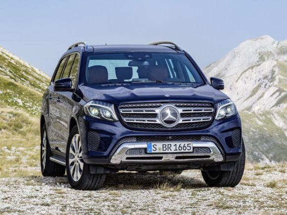 Novo Mercedes-Benz GLS (Foto: Divulgação Mercedes-Benz)