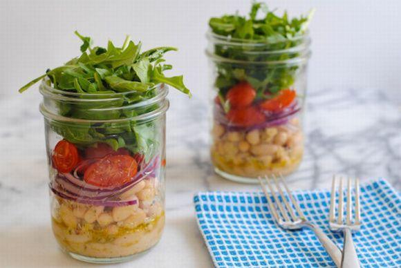 Esse estilo de salada tem feito grande sucesso (Foto Ilustrativa)