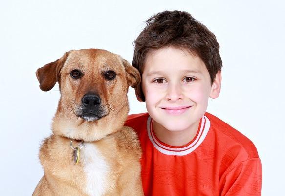 O pet pode blindar a criança contra alergias. (Foto Ilustrativa)