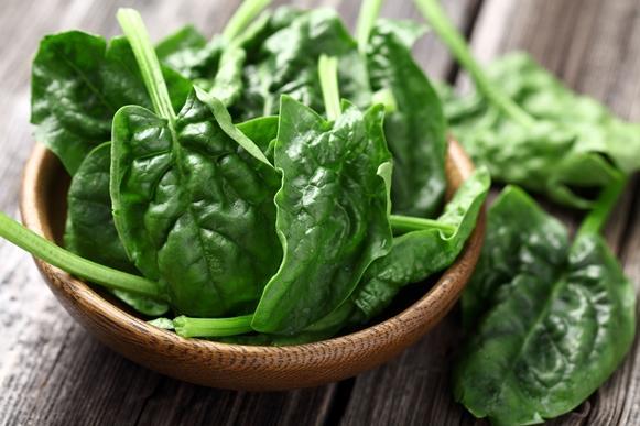 Inclua espinafre na sua alimentação. (Foto Ilustrativa)
