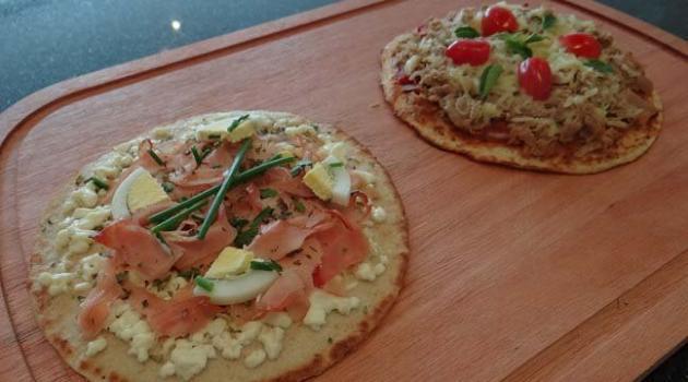 Pizza Dukan (Foto: Reprodução/Bolsa de Mulher)