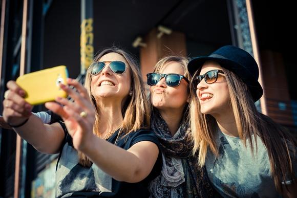 Aplicativos para mudar suas selfies. (Foto Ilustrativa)