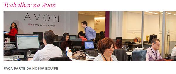 RH Avon, Cadastro de Curriculum e Empregos (Foto Divulgação: Avon)