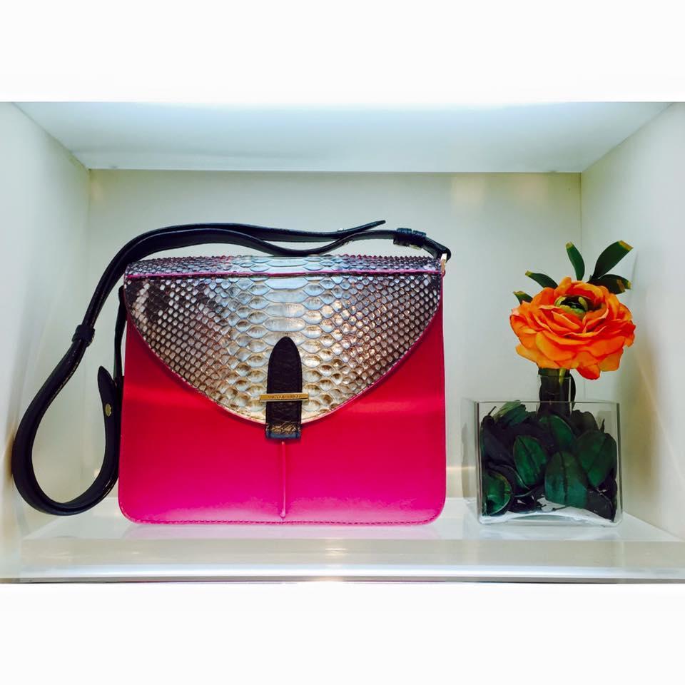 Qual mulher não quer ter o luxo de usar a bolsa? (Foto: Reprodução/ Oficial Victor Hugo)