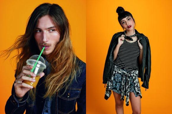 A coleção aposta em roupas unissex para conquistar os jovens. (Foto: Reprodução/C&A)