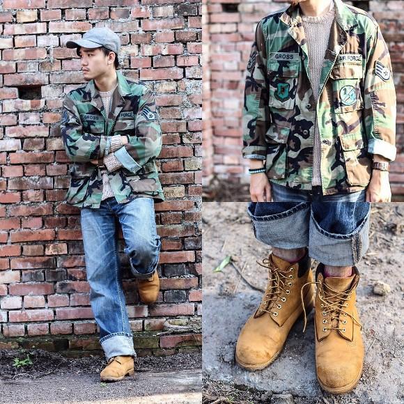 Calçado abotinado rústico e pesado. (Foto: Reprodução/Lookbook.nu)