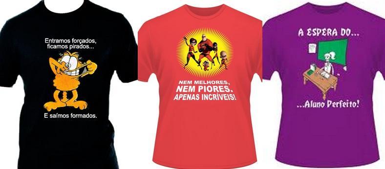 Modelos de camisetas (Foto: Reprodução/Brasil 10)