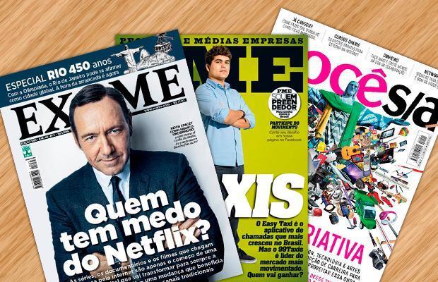 Editora possui vários títulos (Foto: Divulgação/Abril)