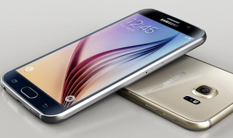 O charmoso Galaxy S6 (Foto: Exame/Abril)
