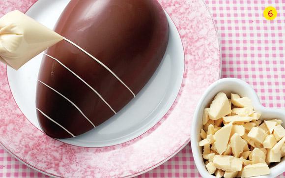 Como arrumar mesa para almoço de Páscoa -> Como Decorar Ovo De Pascoa De Chocolate