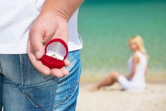Como fazer um pedido de casamento romântico. (Foto Ilustrativa)