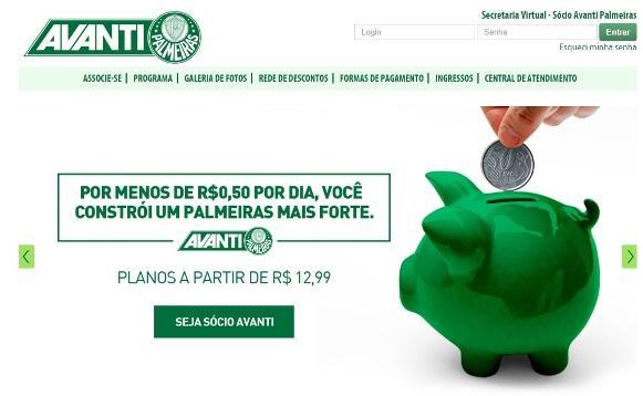 Avanti Palmeiras. (Foto: Divulgação)