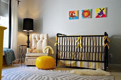 Cores para o quarto do bebê dicas (Foto: Dicas Decor)