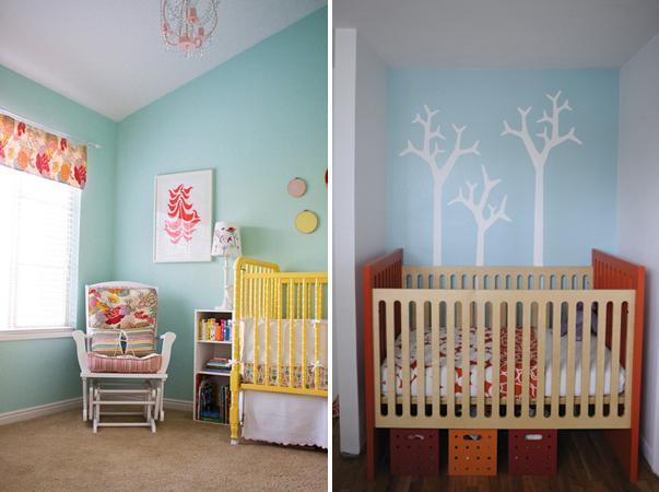 Cores para o quarto do bebê dicas