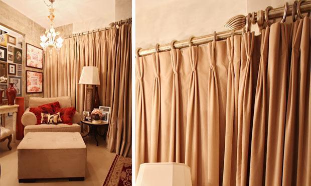 Cortinas para sala fotos for Modelos de cenefas para cortinas