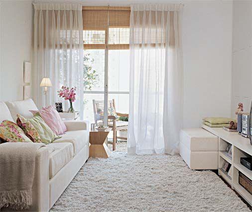 Aproveite e inspire para colocar uma linda cortina (Foto: Decora Fácil)