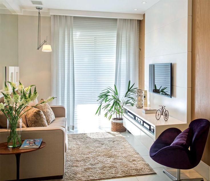 Tem vários tipos de cortinas (Foto: Decora Fácil)