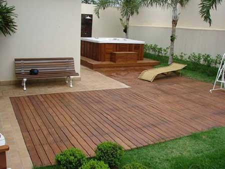 Quintal de casa (Foto: Blog Decoração)