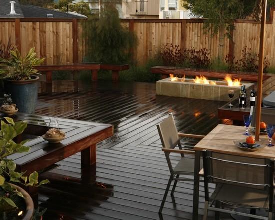 Onde colocar deck de madeira (Foto: Decora Fácil)
