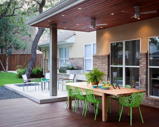 Lugares diferentes para colocar o deck (Foto: Decora Fácil)