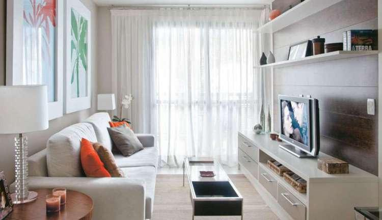 Fotos De Sala Se Tv ~ Decoração De Sala De TV, Fotos, Ideias  MundodasTribos – Todas as