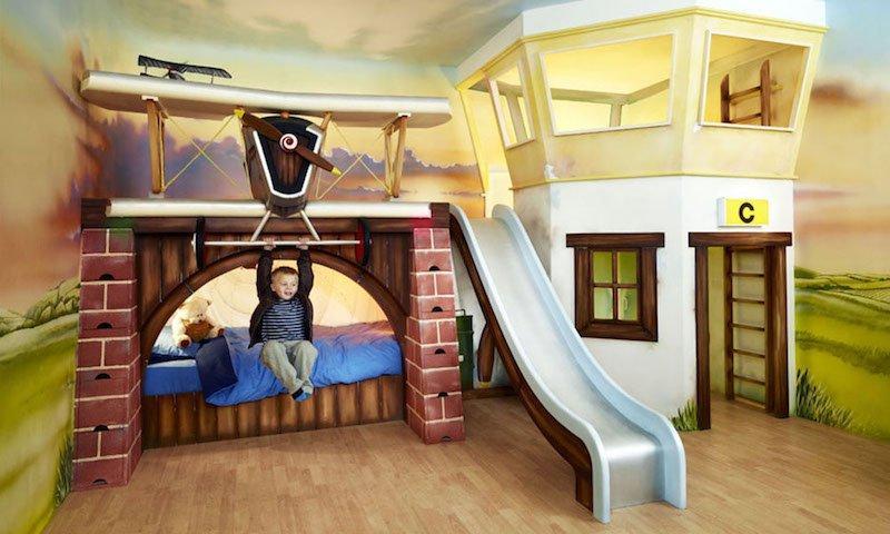 Decoração em quarto infantil lindo e colorido (Foto: Ilustração)