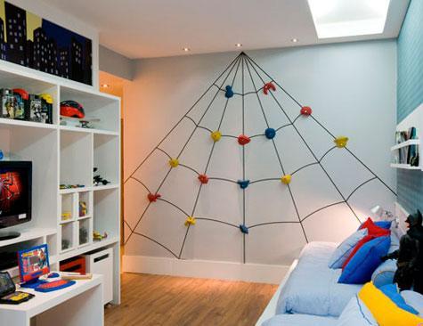 Teia de aranha para decorar (Foto: Ilustração)
