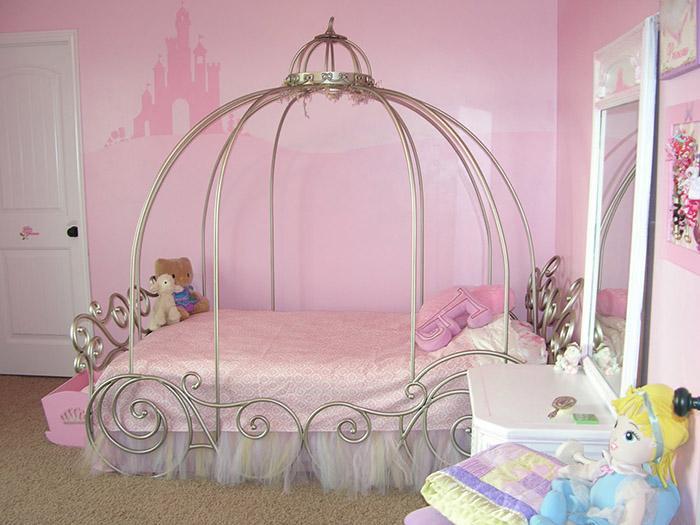 Paredes rosa para decoração em quarto infantil (Foto: Ilustração)