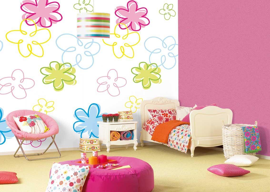 Quarto decorado infantil colorido (Foto: Ilustração)