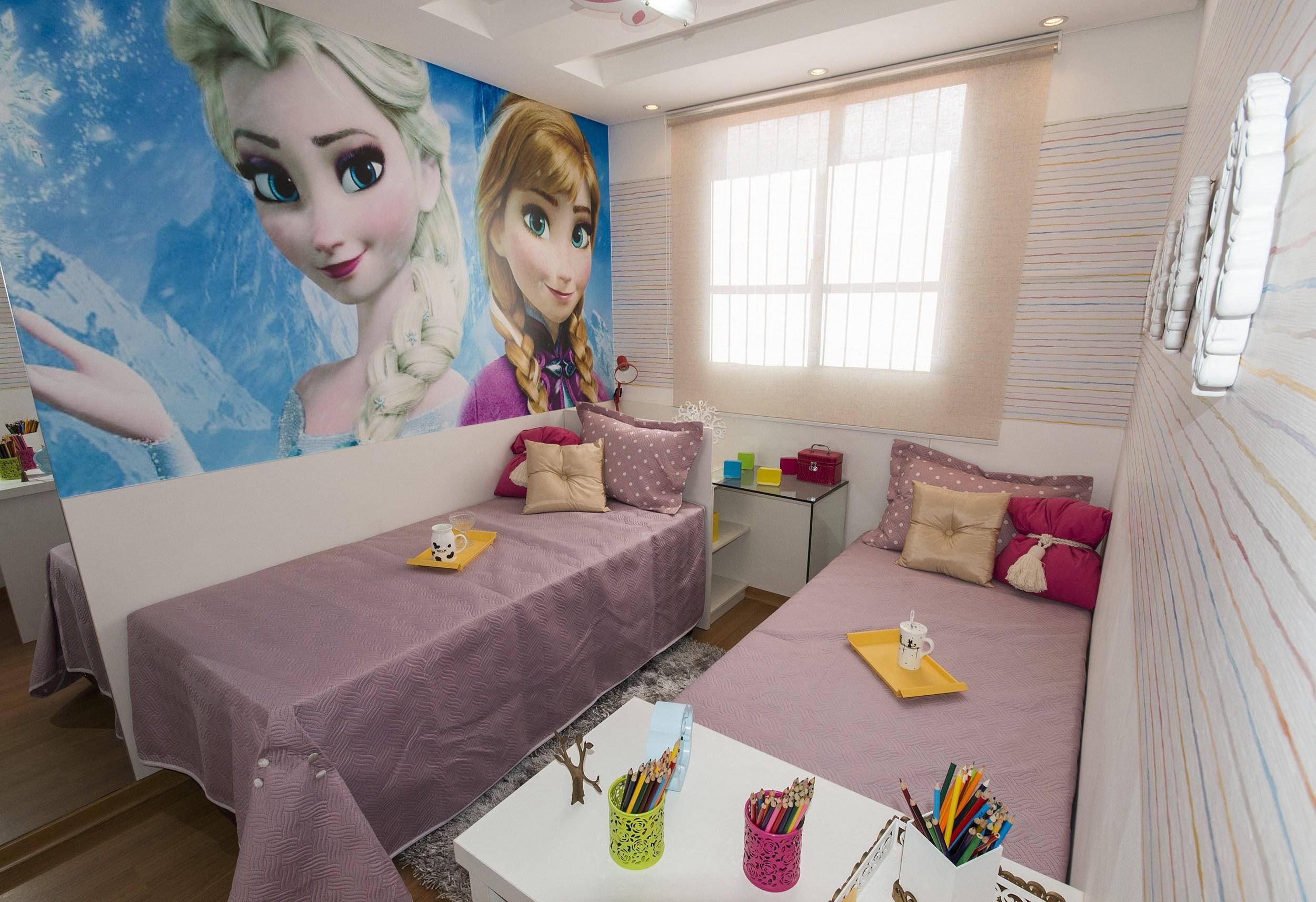 Decoração linda para quarto de menina (Foto: Ilustração)