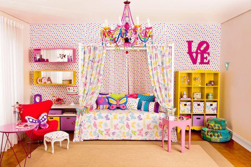 Almofadas para decorar ao quarto infantil (Foto: Ilustração)