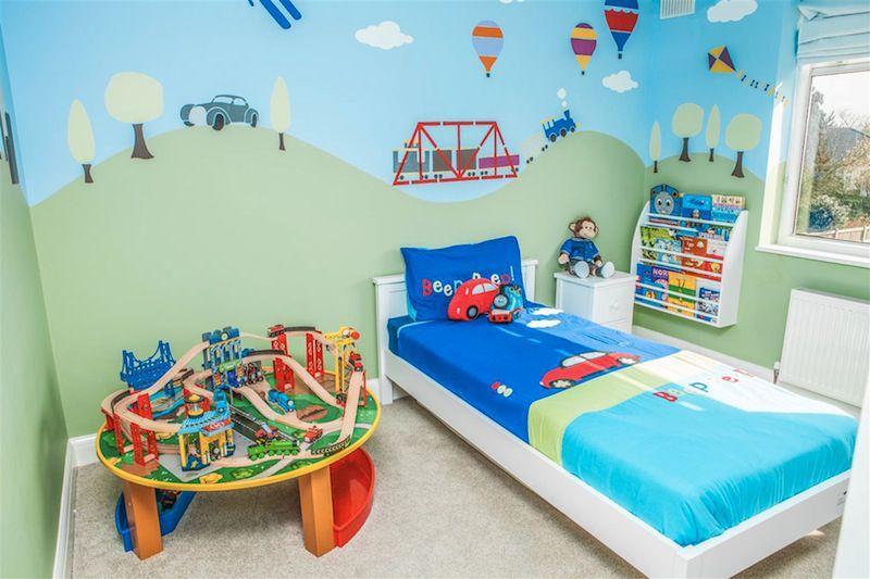 Roupas de cama de decoração em quarto infantil (Foto: Ilustração)