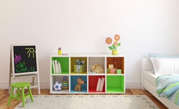 Móvel de decoração em quarto infantil (Foto: Divulgação)