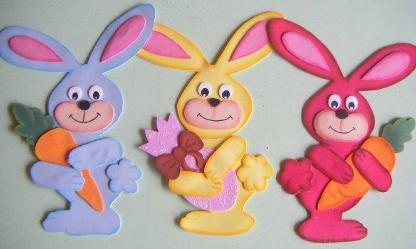 Faça a decoração também em cima da lousa (Foto: Reprodução/Nossa Pascoa)