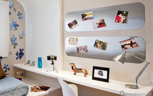 Elementos decorativos podem ser mudados mais facilmente (Foto: Quarto de Bebê)