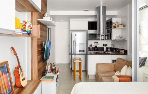Em apartamento ou casa, o jeito é aproveitar cada espaço da casa (Foto: Casa/Abril)