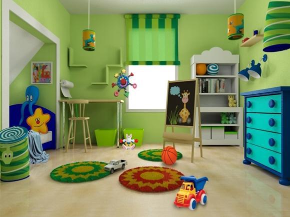 Quarto infantil colorido. (Foto: Reprodução/residencestyle)
