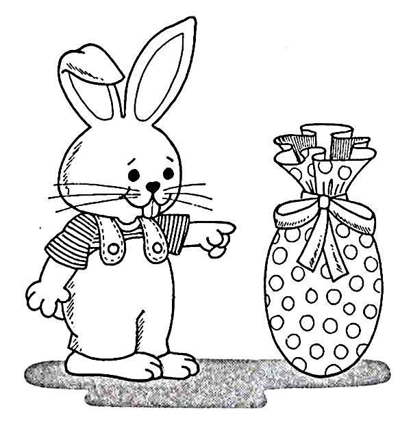 Que tal deixar o coelho bem bonito? (Foto: Reprodução/Portal Escolar)