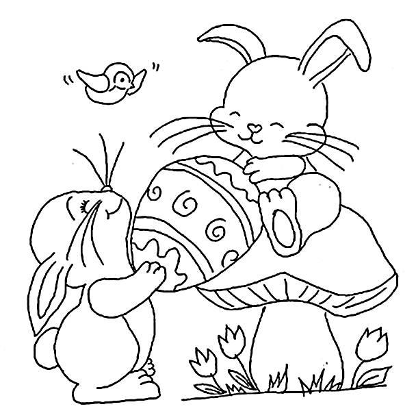 Criança ganhando ovo de páscoa (Foto: Reprodução/Portal Escolar)