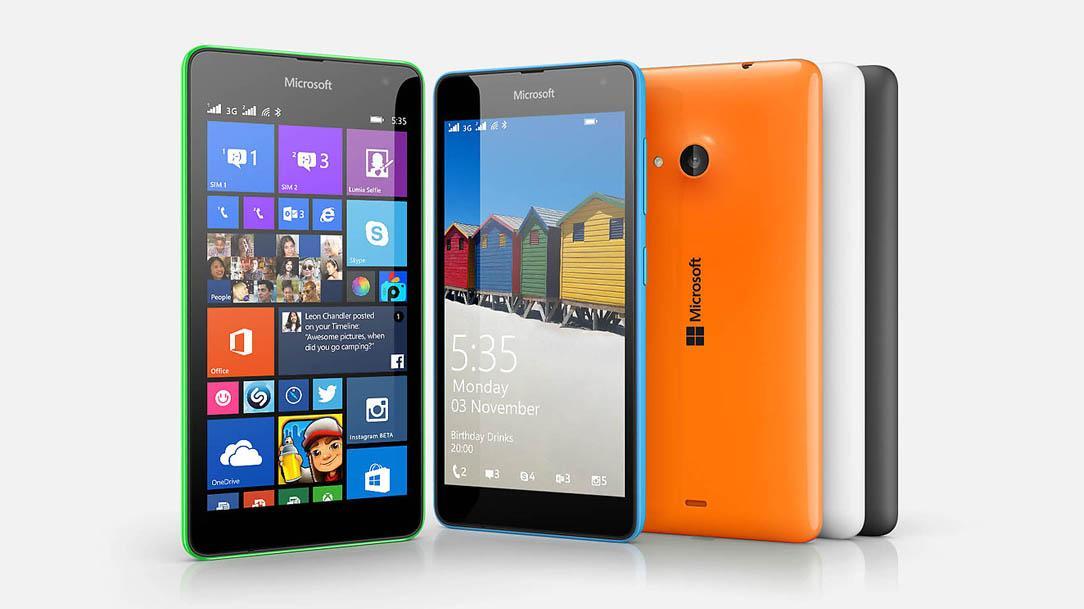 Lumia 535 Dual SIM (Foto: Reprodução/ Site Oficial da Microsoft)
