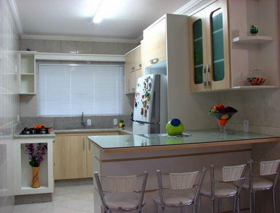 Cozinha planejada bonita (Foto: Reprodução/Decorando Casas)