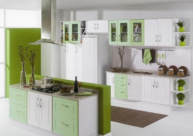 Cozinha planejada estilosa (Foto: Reprodução/Decorando Casas)