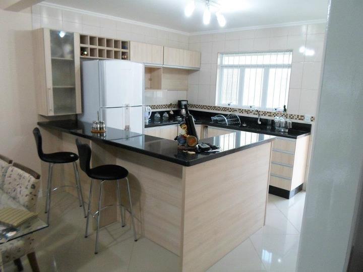 Cozinha planejada barata (Foto: Reprodução/Decorando Casas)