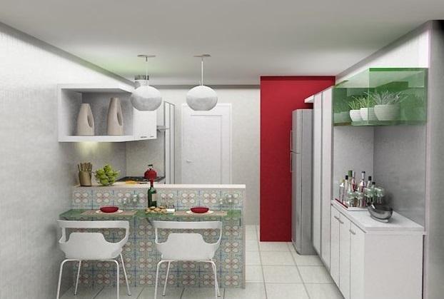 Aproveite para planejar cada móvel da cozinha (Foto: Casa Construída)