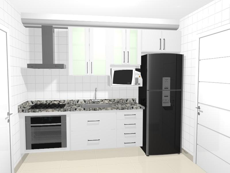 Você pode planejar pontos das cozinha (Foto: Casa Construída)
