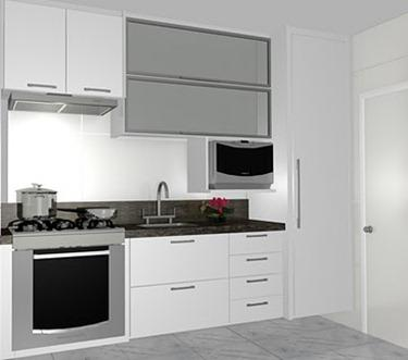 Deixe sua cozinha clean (Foto: Casa Construída)