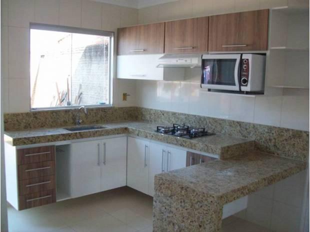 Fotos de cozinha planejada casas pequenas (Foto: Casa Construída)